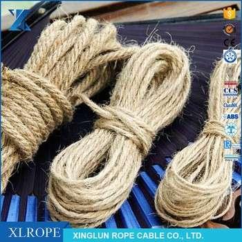 黄麻纤维材料绞绳