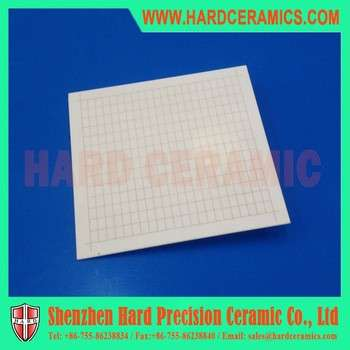 96%氧化铝陶瓷基板的激光划片