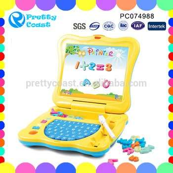 2017 musical letter digital ABS material kids toys learning machine