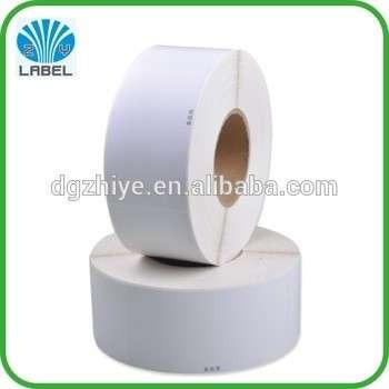 廉价包装空白纸不干胶标签