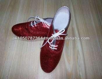 Glitter Jazz Shoes (Red)