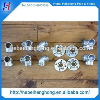 galvanized cast iron pipe key clamp parts fittings