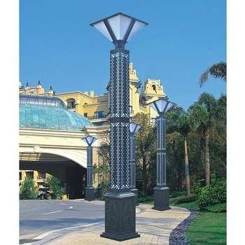 Low Voltage Landscape Lighting Scenic Spot Square Column Garden Lamps 6 8m