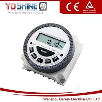 每周220V可编程数字定时器开关数字厨房定时器