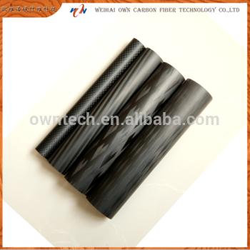 碳纤维管的碳纳米管3k wovn管