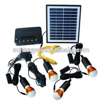 Solar Power Outdoor Home Camping 11V 4W 6V DC Output Portable Solar