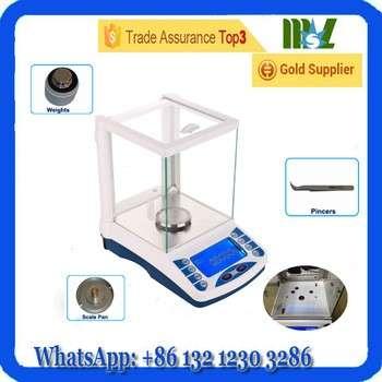 内部校准电子秤/电子分析天平/实验室精密天平价格便宜的mslyk系列