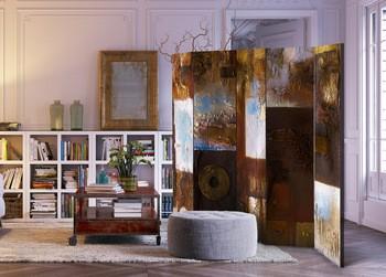 屏风超大现代家居装修居室家具