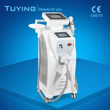 E光射频4in1选择(冷+热)YAG激光激光脱毛的多功能美容机多处理