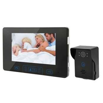 New Arrival 7.0 inch TFT 2.4GHz Digital Wireless Video Door Phone, Support Night Vision / Monitor / Unlock / Photo