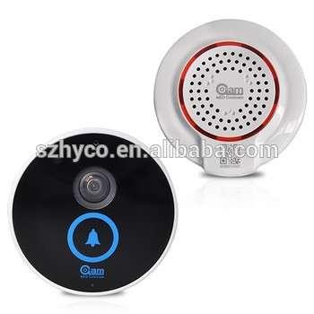 最便宜的双向音频无线门铃摄像头,无线视频门手机,智能手机无线门铃