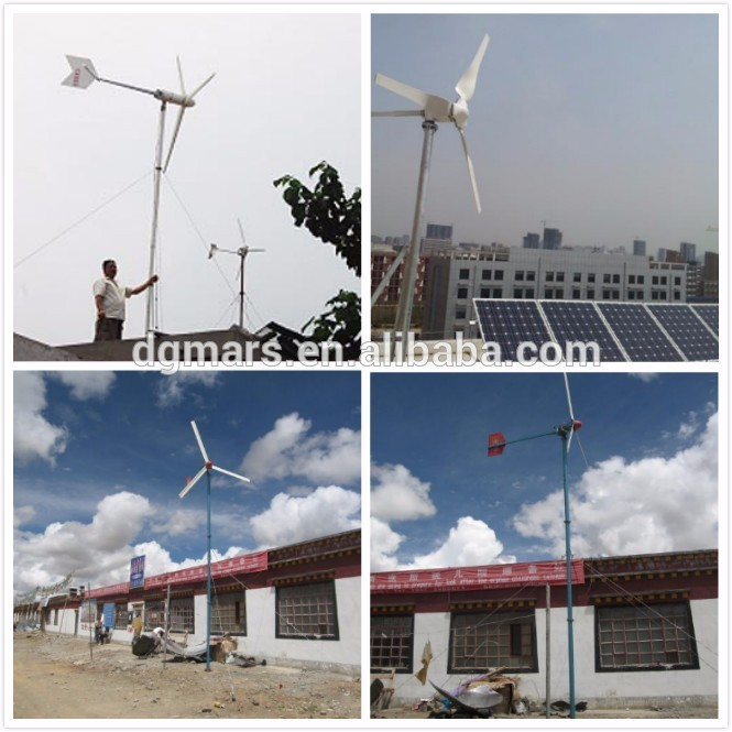 Low Wind Speed Windmill 3KW Wind Turbine 220V Electric Wind