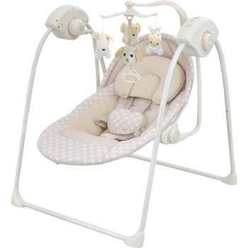 Plastic Frame Toys Baby Swing With Bigger Seat