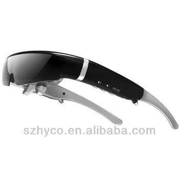 最新的98英寸虚拟屏幕的3D视频眼镜,支持720P高清,内置8GB