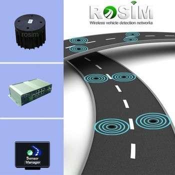 带有ZigBee运动传感器无线车辆检测器的最佳交通计数器