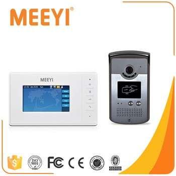Meeyi Villa Video Door Phone Unlock Record Monitor Call Digital Indoor Station Video Intercom Doorbell