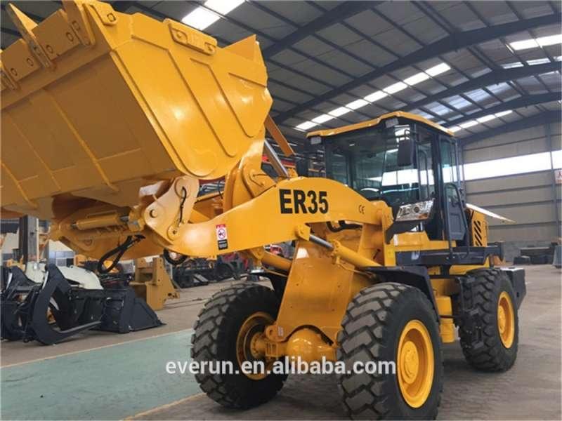 热售中国工程机械3吨特种装载机道依茨发动机