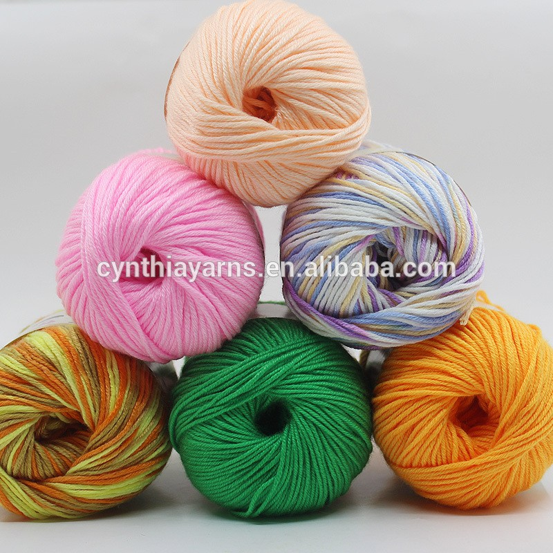 Wholesale Stock New Products Crochet Yarn Milk Cotton Yarn Hand