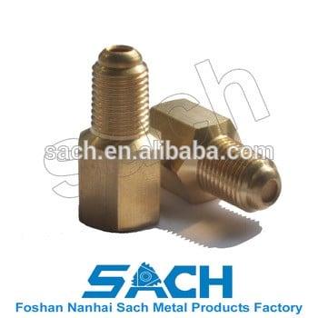 1/4 FNPT x 1/4 MNPT SS过滤器类型缓冲铜多孔石压Gauge Snubbers