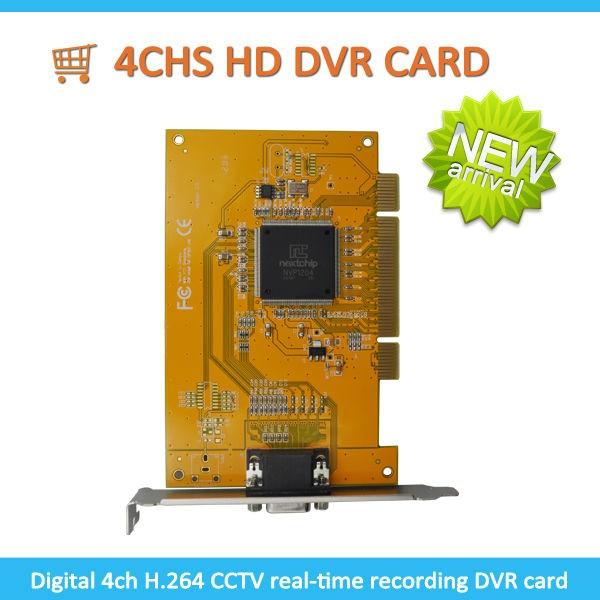 CCTV Camera Video Capture Card PC 4ch Software Dvr Card H 264