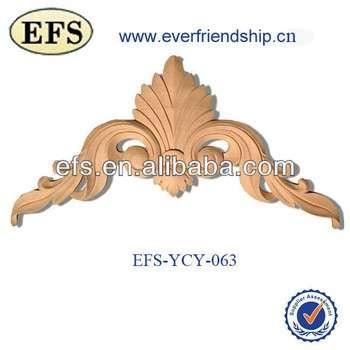 木雕装饰产品为例