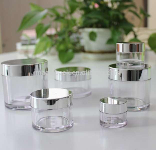 唇膏PETG塑料圆形化妆品瓶