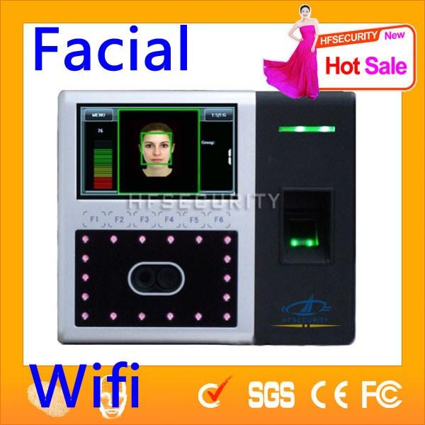 Most Popular TCP/IP Facial Recognition Web Fingerprint Time Attendance System FR302