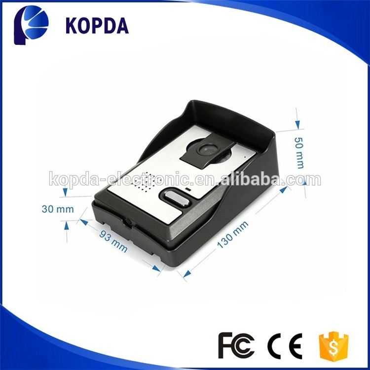 Multi apartments 7 inch color competition video door phone