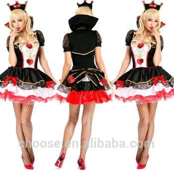 Hot Sale Anime Fantasy Heart Free Cosplay Costume Lolita Dress Halloween Performance For Women Disfraces