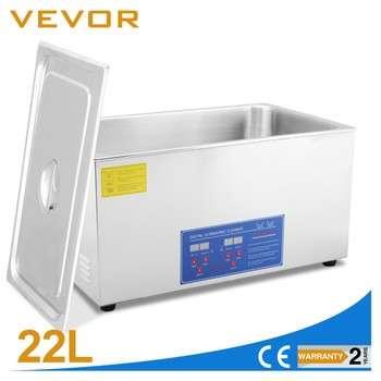 vevor超声波清洗机22l1080w加热器数字时钟SUS304