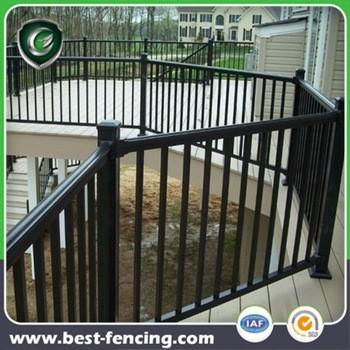 防护住宅钢或铝甲板栏杆