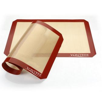 食品级定制LOGO OEM超大硅胶烤垫
