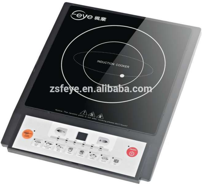 Press button control electric cooktop with CB