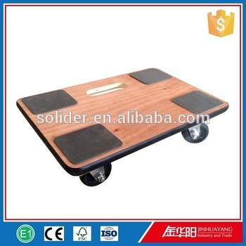 pw4530-iii 4x3'pp脚轮PVC防滑垫胶合板先行者小车边