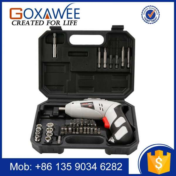 4.8V Multi-Function Electric Screw Driver 3000Amh Lithium Battery Rechargeable Electric Drill Cordless Screwdriver