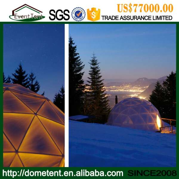 china cheap price good quality geodesic dome tent for outdoor camping events