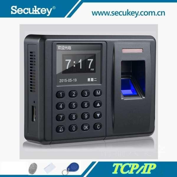 Fingerprint Attendance & Door Access Control Digital Home Security Alarm System