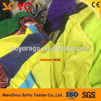 用服装颜色T恤切割机器刮清洁棉抹布擦拭