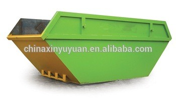Mild steel skip bin for doposal refuse collection use with spraying paint on sale in china factory