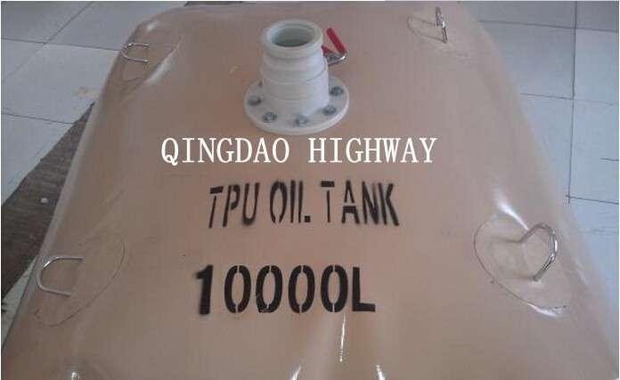 聚氨酯涂层的软10000l柔性燃料罐