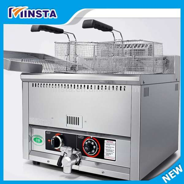 2016 Hot Sale Commerical Electric Automatic Basket-lift 17 L Countertop Deep Fryer