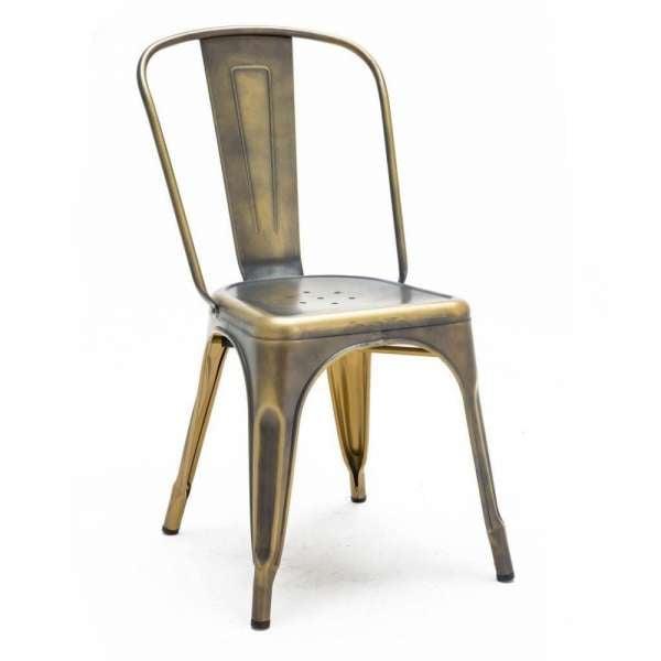 价格便宜的粉末涂料商用家具餐厅老式工业金属餐椅