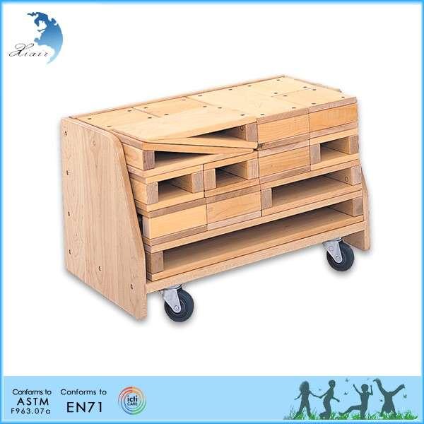 滴送货母园DIY组装木制积木玩具