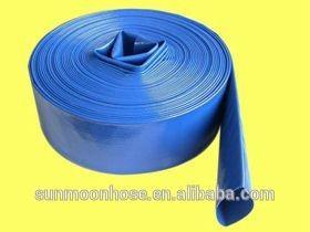 """热售!PVC软管躺平,2 """";,2.5 """";,3 """";,4""""""""6""""""""8""""""""10""""""""12"""",150psi ~ 300psi,软管配件"""