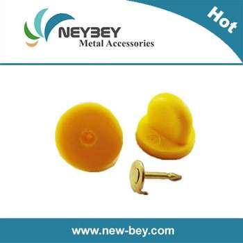 黄色橡胶PVC针背bu102蝴蝶离合器