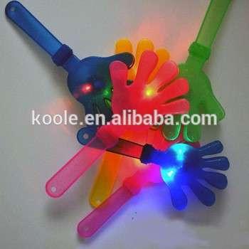 Light up flashlight led plastic clapper