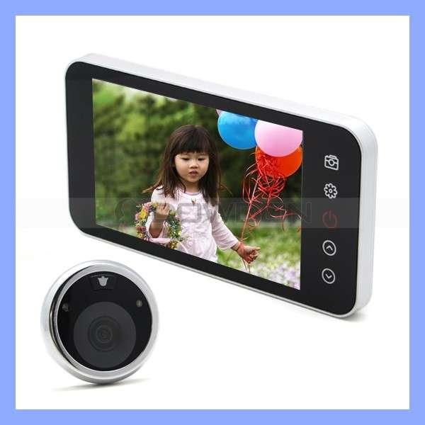 4英寸液晶数字门镜夜视录像拍照