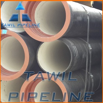 TAWIL push-in flexible joint Connection and socket and spigot Shape ductile cast iron pipes and fittings