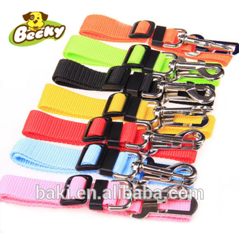 Adjustable Nylon Pet Dog Cat Safety Harness Seatbelt Leads Dog Car Seat Belt