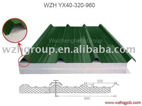 便宜价格EPS泡沫屋顶夹层轻质板